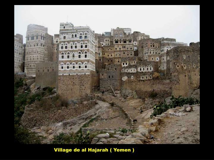 Village de al Hajarah ( Yemen )