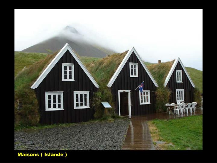 Maisons ( Islande )