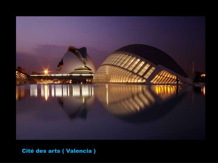 Cité des arts ( Valencia )