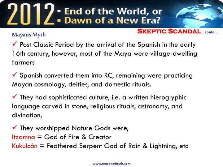 Mayans Myth