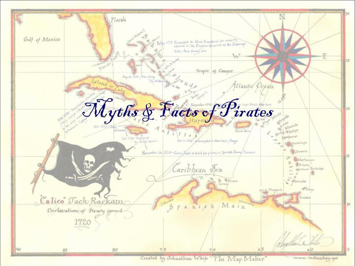 myths facts of pirates n.