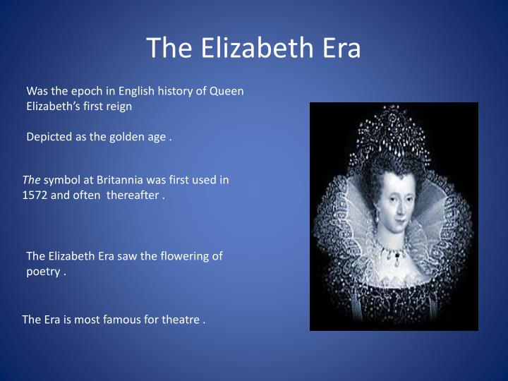 inventions of the elizabethan era essay Discovery space - at rear of forestage - to reveal/conceal actors/objects one of the great mysteries of elizabethan theatre is the location and structure of the.