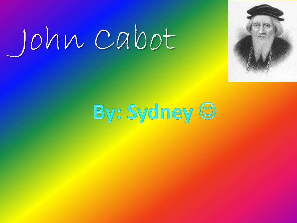 what did john cabot accomplish for england