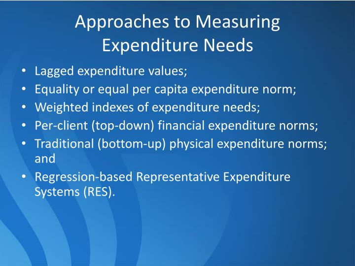 Approaches to Measuring
