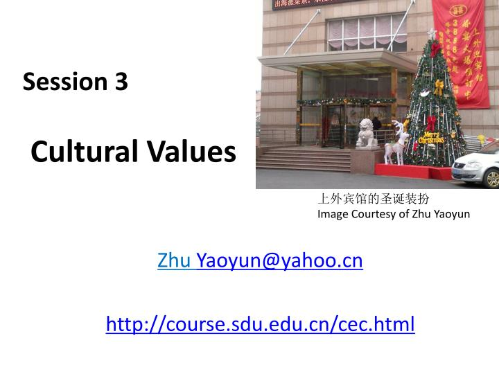 session 3 cultural values n.