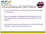 communicating with lgbt patients1
