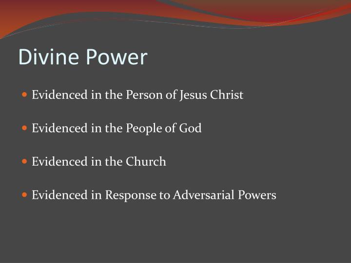 Divine power1