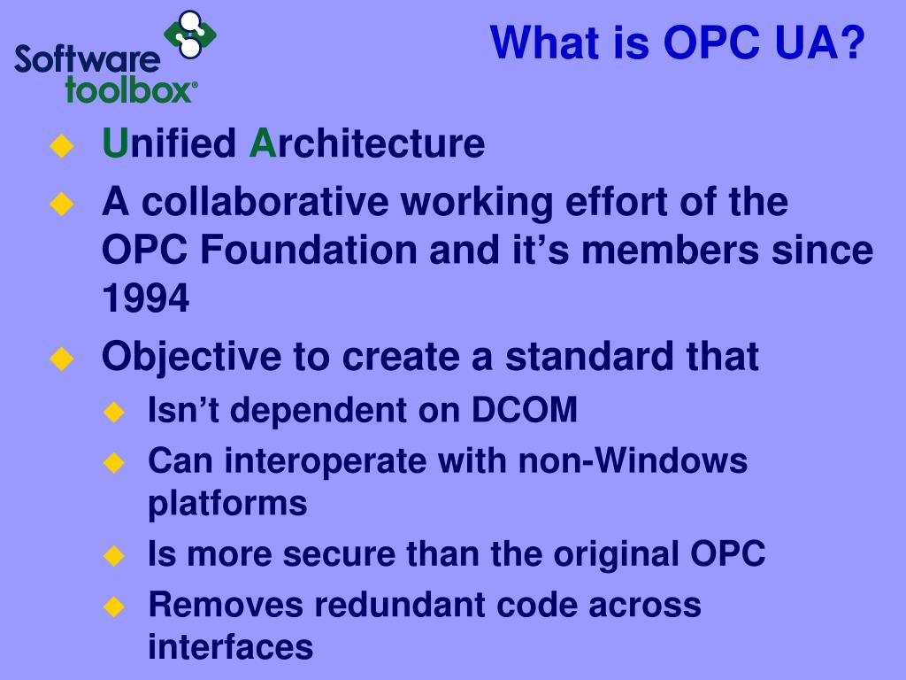 PPT - Flexible OPC Client Development in VS NET, VB6 and