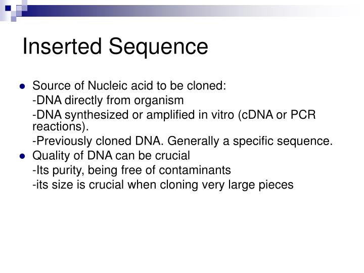 Inserted Sequence