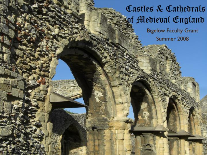 castles cathedrals of medieval england n.