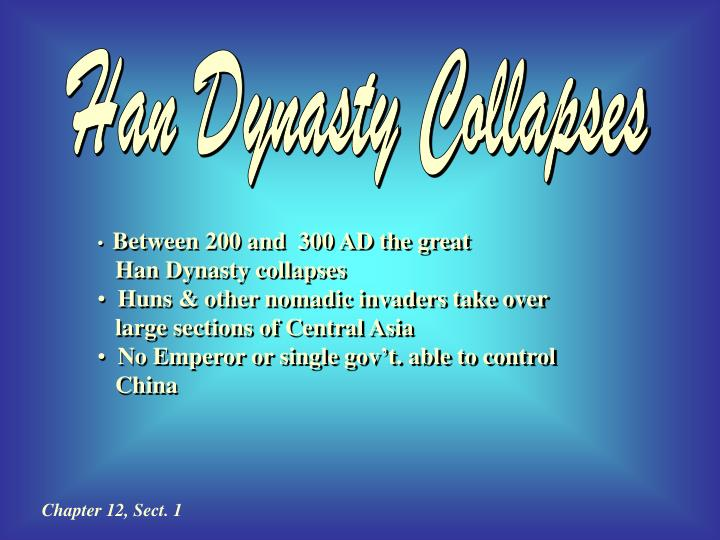 Han Dynasty Collapses
