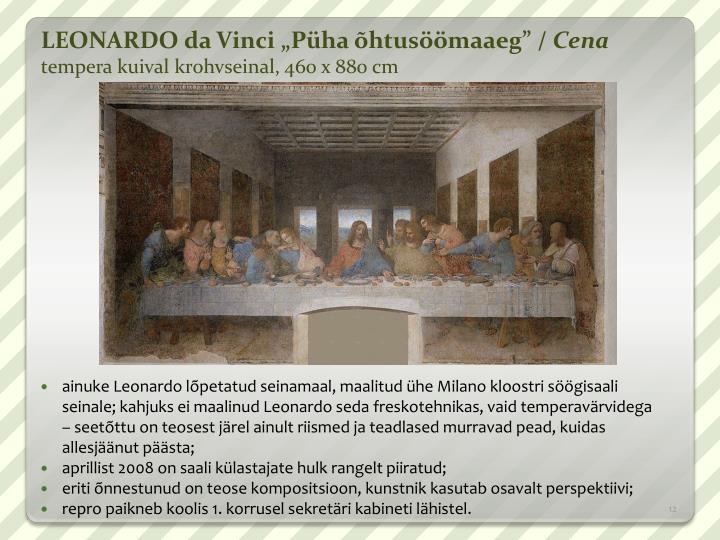 LEONARDO da