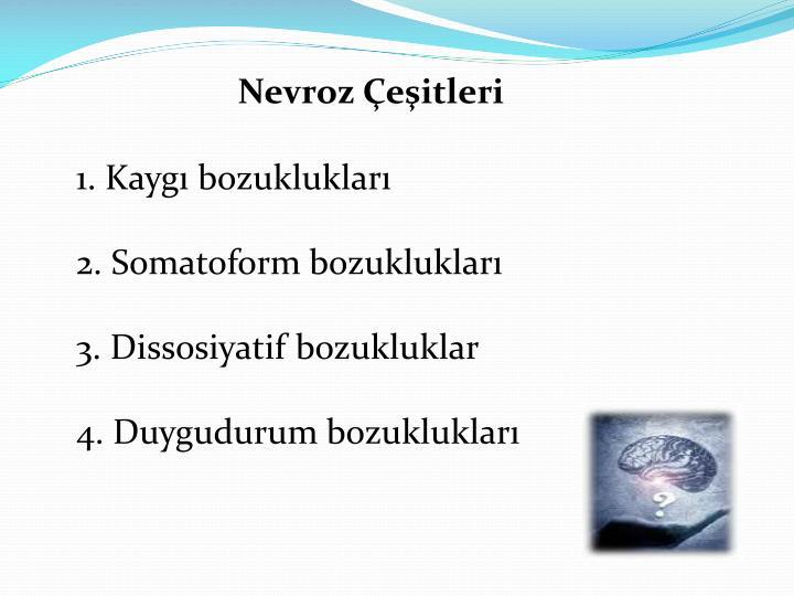 Nevroz Çeşitleri