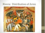rivera distribution of arms