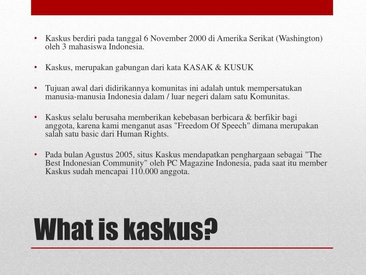 Ppt online business powerpoint presentation id5248697 what is kaskus toneelgroepblik Images