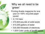 why we all need to be green1