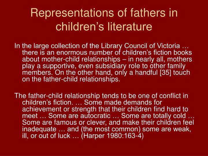 Representations of fathers in children's literature