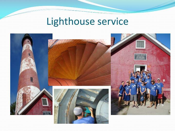 Lighthouse service