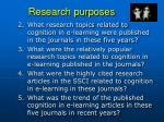 research purposes1