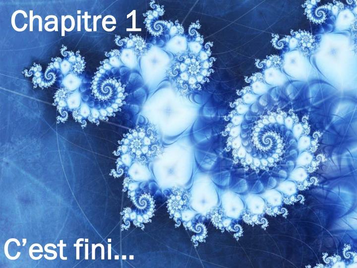 Chapitre 1