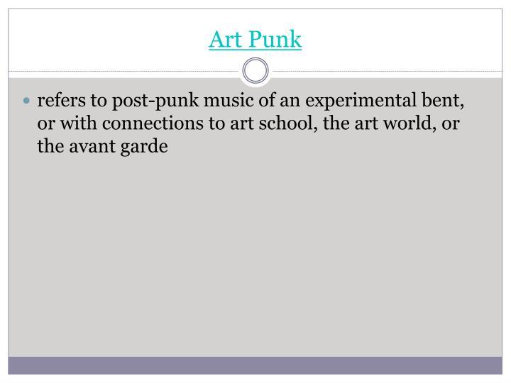 Art Punk