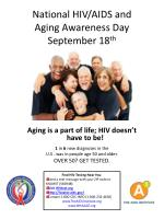 national hiv aids and aging awareness day september 18 th10