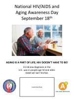 national hiv aids and aging awareness day september 18 th3