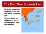 the cold war spreads east1