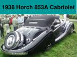1938 horch 853a cabriolet