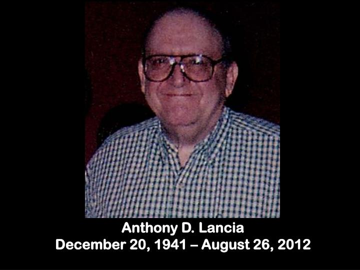 Anthony D. Lancia
