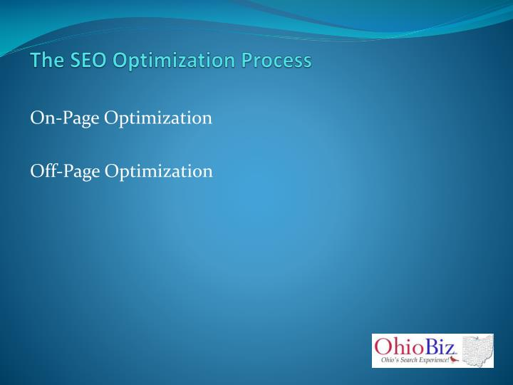 The SEO Optimization Process