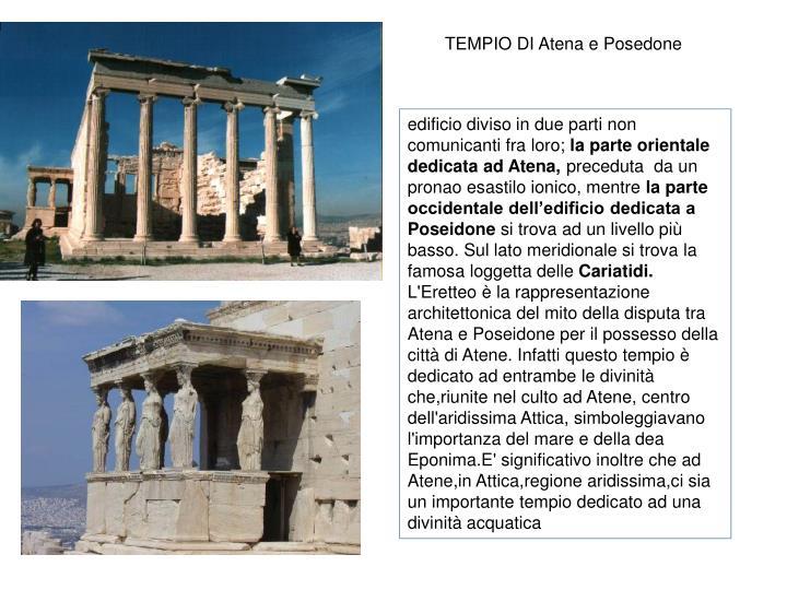TEMPIO DI Atena e Posedone