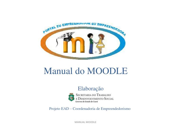 Manual do MOODLE