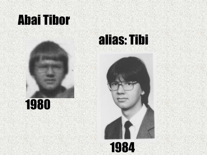 Abai Tibor