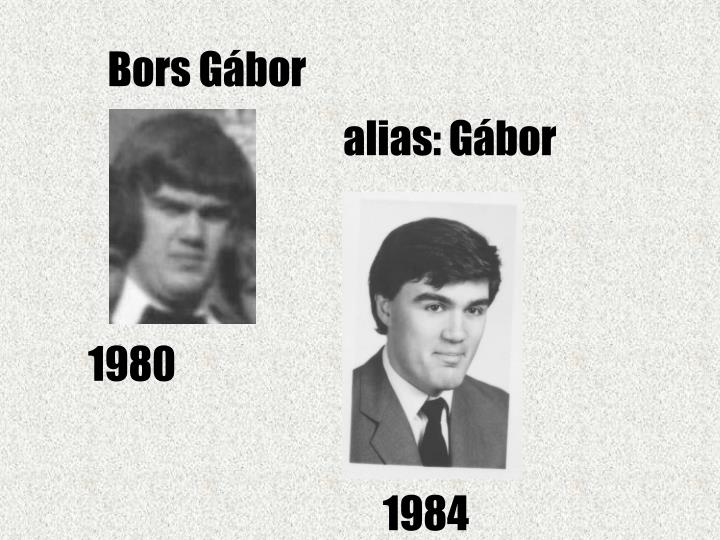 Bors Gábor