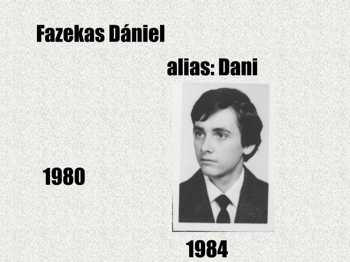Fazekas Dániel