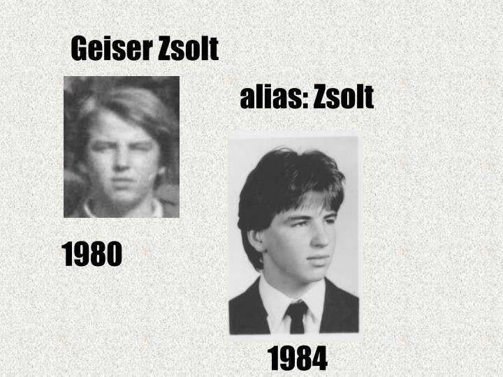 Geiser Zsolt