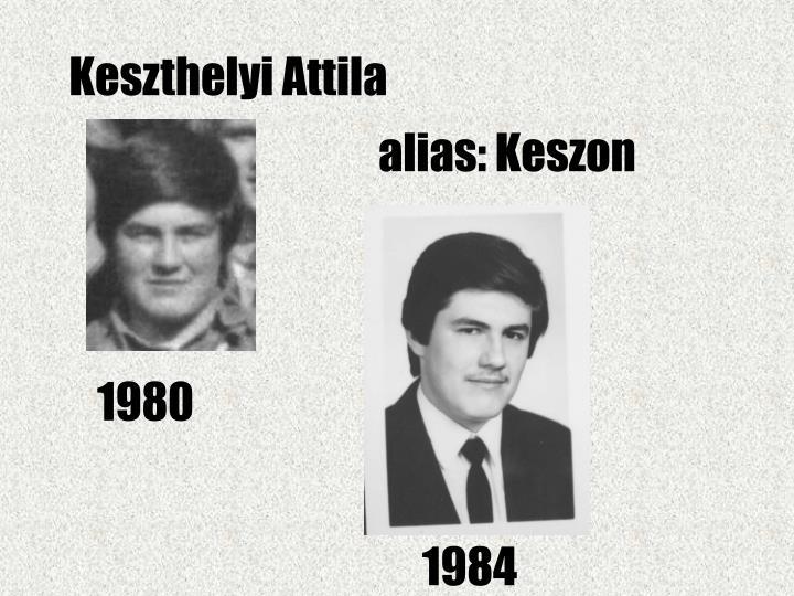 Keszthelyi Attila