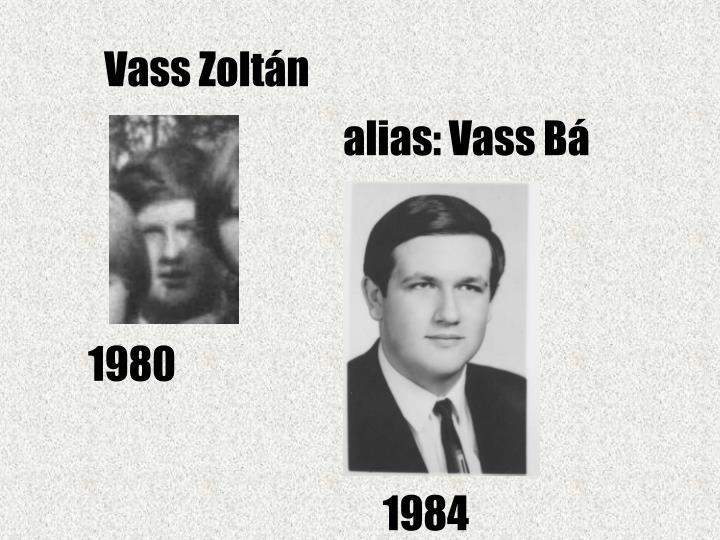 Vass Zoltán