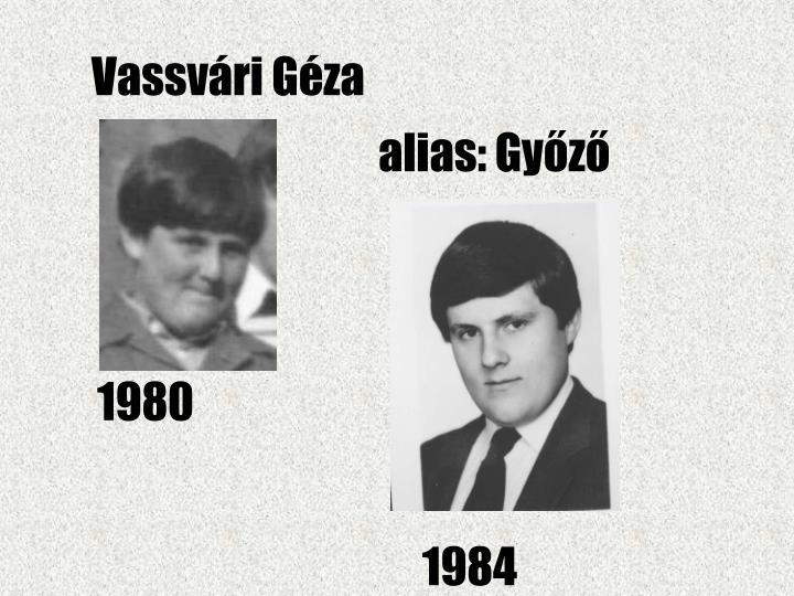 Vassvári Géza
