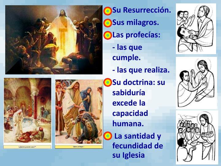 Su Resurrección.