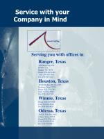 service with your company in mind
