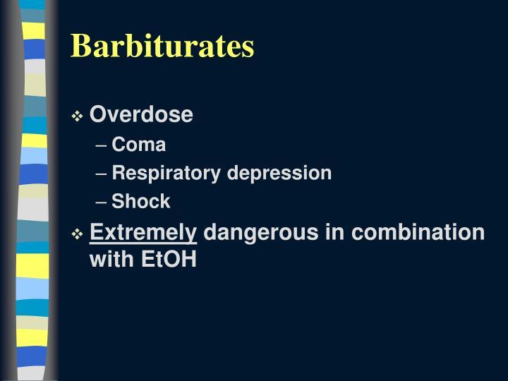 Barbiturates