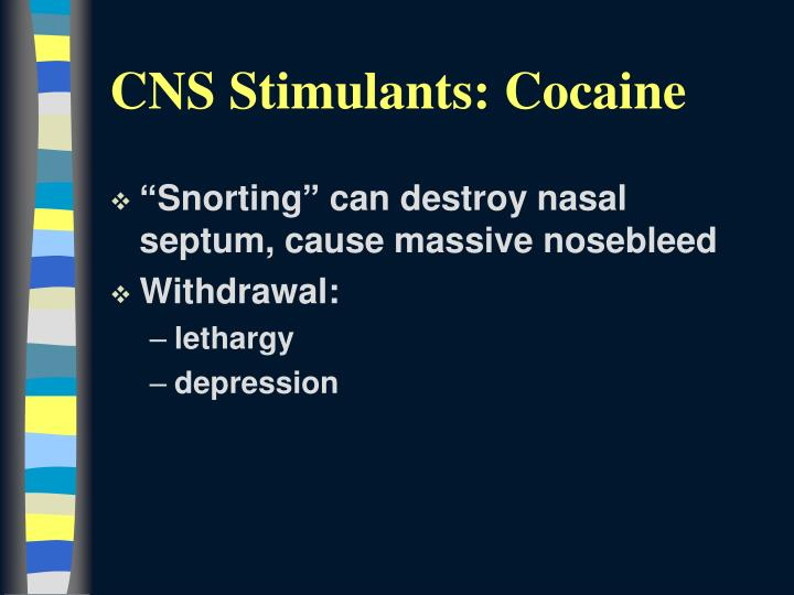 """""""Snorting"""" can destroy nasal septum, cause massive nosebleed"""