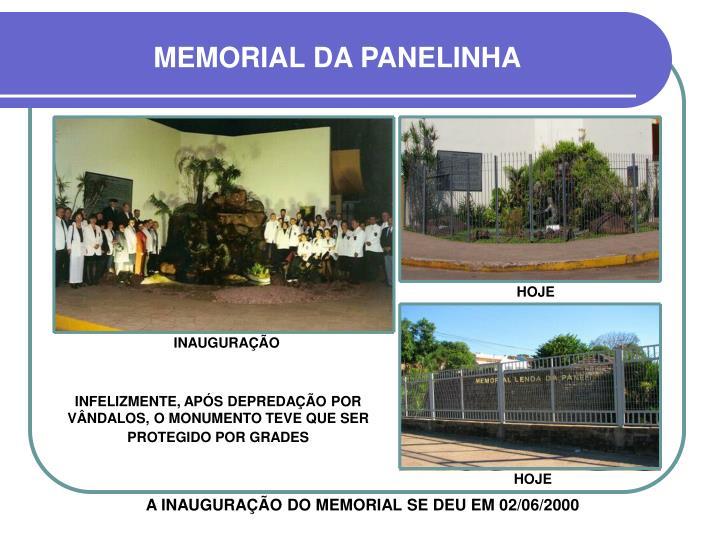 MEMORIAL DA PANELINHA