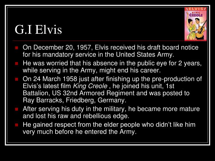 G.I Elvis