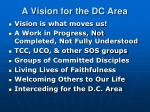 a vision for the dc area