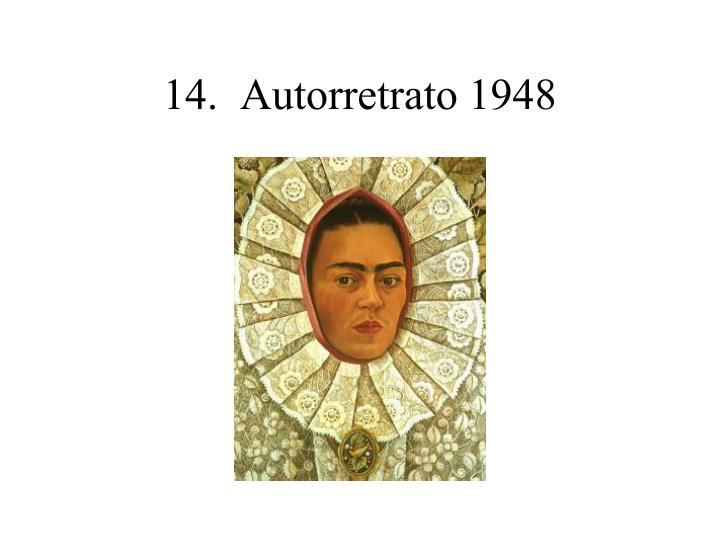 14.  Autorretrato 1948