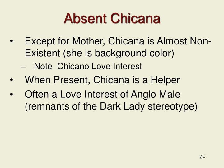Absent Chicana