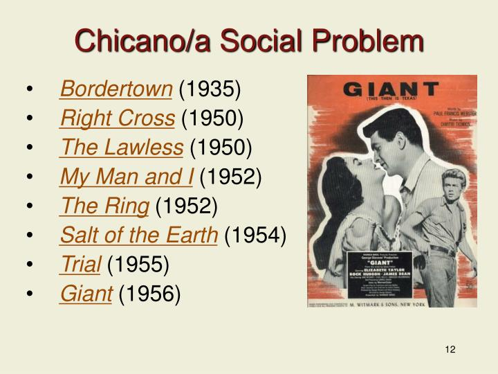Chicano/a Social Problem